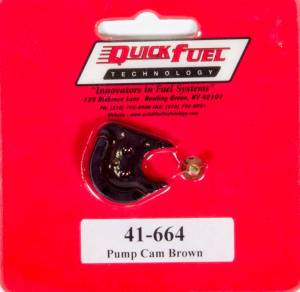 QUICK FUEL TECHNOLOGY #41-664QFT Pump Cam (Brown)