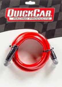 QUICKCAR RACING PRODUCTS #40-481 Coil Wire - Red 48in HEI/HEI