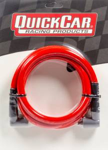 QUICKCAR RACING PRODUCTS #40-605 Coil Wire - Red 60in HEI/Socket