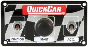 QUICKCAR RACING PRODUCTS #50-020 Dirt Ignition Panel Weatherproof