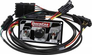 QUICKCAR RACING PRODUCTS #50-2030 Ignition Harness/Panel Modified