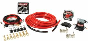 QUICKCAR RACING PRODUCTS #50-234 Wiring Kit 2 Gauge with 50-102 Switch Panel