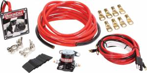 QUICKCAR RACING PRODUCTS #50-236 Wiring Kit 4 Gauge w/o Disconnect w/50-102 Ign
