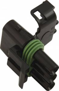 QUICKCAR RACING PRODUCTS #50-330 Female 3 Pin Connector-