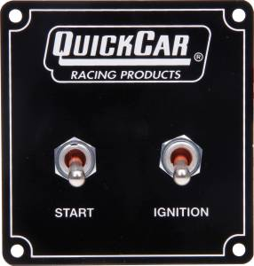 QUICKCAR RACING PRODUCTS #50-750 Ignition Panel 2 Switch With Pigtail