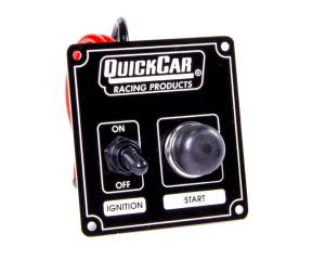 QUICKCAR RACING PRODUCTS #50-802 Ignition Panel Black
