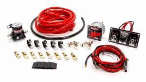 QUICKCAR RACING PRODUCTS #50-832 Wiring Kit Premium 4 Ga w/Black 50-820 Panel