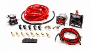 QUICKCAR RACING PRODUCTS #50-835 Wiring Kit 4 Gauge with Black 50-802 Panel