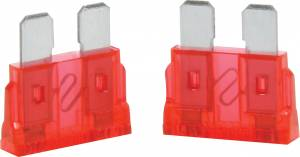QUICKCAR RACING PRODUCTS #50-910 10 Amp ATC Fuse Red 5pk