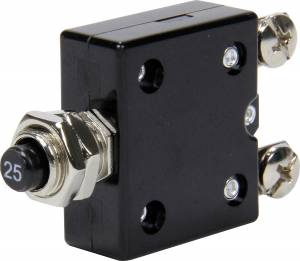 QUICKCAR RACING PRODUCTS #50-9725 25 Amp Resettable Circuit Breaker