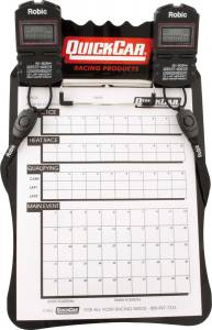 QUICKCAR RACING PRODUCTS #51-052 Clipboard Timing System Black