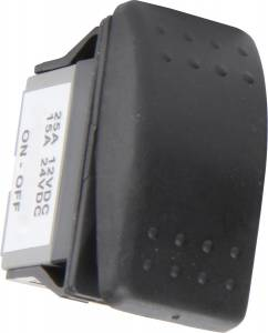 QUICKCAR RACING PRODUCTS #52-510 Rocker Switch Momentary Start