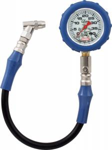 QUICKCAR RACING PRODUCTS #56-042 Tire Gauge 40 PSI Glo Gauge