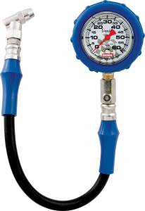 QUICKCAR RACING PRODUCTS #56-061 Tire Gauge 60 PSI Liquid Filled
