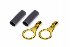 QUICKCAR RACING PRODUCTS #57-479 Ring Terminal 5/16 14-16 GA. Pair w/Heat Shrink