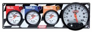 QUICKCAR RACING PRODUCTS #61-6041 3-1 Gauge Panel OP-WT-OT-Tach