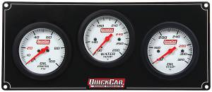 QUICKCAR RACING PRODUCTS #61-7011 3 Gauge Extreme Panel OP/WT/OT
