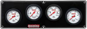 QUICKCAR RACING PRODUCTS #61-7021 4 Gauge Extreme Panel OP/WT/OT/FP