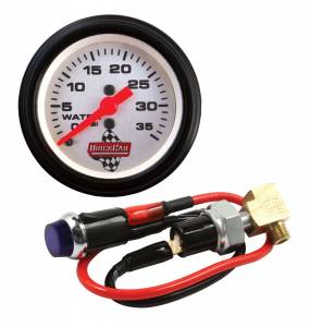 QUICKCAR RACING PRODUCTS #61-716 Water Pressure Kit with Gauge