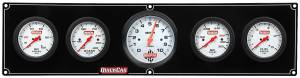 QUICKCAR RACING PRODUCTS #61-77513 Extreme 4-1 OP/WT/OT/FP w/ 3in Tach