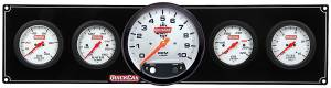 QUICKCAR RACING PRODUCTS #61-7751 Extreme 4-1 OP/WT/OT/FP w/ 5in Tach