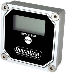 QUICKCAR RACING PRODUCTS #611-100 LCD Recall Tach Black