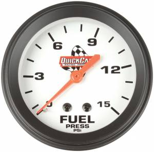 QUICKCAR RACING PRODUCTS #611-6000 Fuel Pressure Gauge 2-5/8in