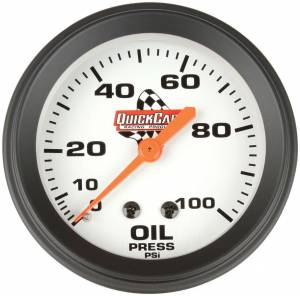 QUICKCAR RACING PRODUCTS #611-6003 Oil Pressure Gauge 2-5/8in