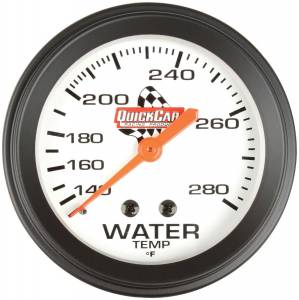 QUICKCAR RACING PRODUCTS #611-6006 Water Temp. Gauge 2-5/8in