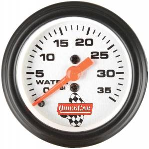 QUICKCAR RACING PRODUCTS #611-6008 Water Pressure Gauge 2in