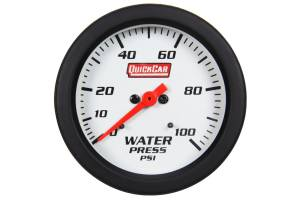 QUICKCAR RACING PRODUCTS #611-7008 Extreme Gauge Water Pressure