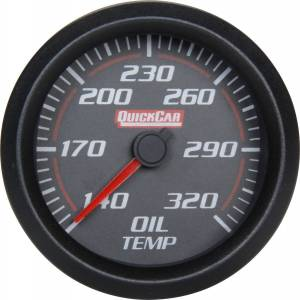 Redline Oil Temp Gauge Discontinued 03/19/18 VD * CLOSEOUT ITEM CALL 1-800-603-4359 FOR BEST PRICE