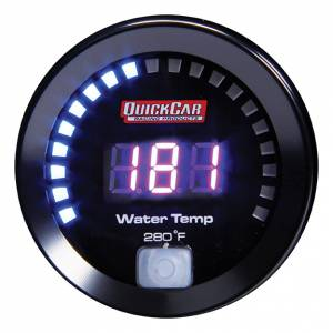 QUICKCAR RACING PRODUCTS #67-006 Digital Water Temp Gauge 100-280