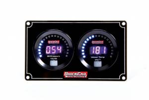QUICKCAR RACING PRODUCTS #67-2001 Digital 2-Gauge Panel OP/WT