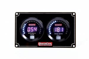 QUICKCAR RACING PRODUCTS #67-2001 Digital 2-Gauge Panel OP/WT