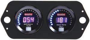 QUICKCAR RACING PRODUCTS #67-2004 Digital 2-Gauge Panel Open Wheel OP/WT