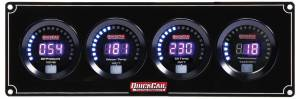 QUICKCAR RACING PRODUCTS #67-3041 Digital 3-1 Gauge Panel OP/WT/OT w/Tach