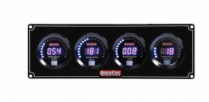 QUICKCAR RACING PRODUCTS #67-3042 Digital 3-1 Gauge Panel OP/WT/FP w/Tach