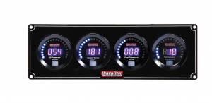 QUICKCAR RACING PRODUCTS #67-3042 Digital 3-1 Gauge Panel OP/WT/FP w/Tach