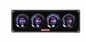 QUICKCAR RACING PRODUCTS #67-3047 Digital 3-1 Gauge Panel OP/WT/Volt w/Tach