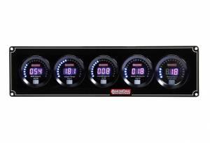 QUICKCAR RACING PRODUCTS #67-4056 Digital 4-1 Gauge Panel OP/WT/FP/WP w/Tach