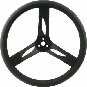 QUICKCAR RACING PRODUCTS #68-003 15in Steering Wheel Stl Black