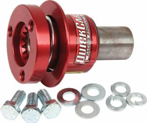 QUICKCAR RACING PRODUCTS #68-015 Steering Disconnect 360 Type Spline Alum