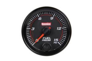 QUICKCAR RACING PRODUCTS #69-000 Redline Gauge Fuel Pressure
