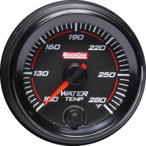 QUICKCAR RACING PRODUCTS #69-006 Redline Gauge Water Temperature