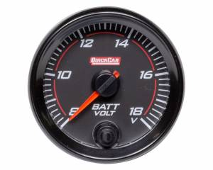 QUICKCAR RACING PRODUCTS #69-007 Redline Gauge Voltmeter