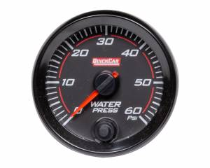 QUICKCAR RACING PRODUCTS #69-008 Redline Gauge Water Pressure
