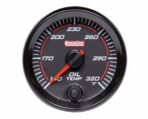 QUICKCAR RACING PRODUCTS #69-009 Redline Gauge Oil Temperature