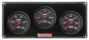 QUICKCAR RACING PRODUCTS #69-3016 Redline 3 Gauge Panel OP/WT/WP
