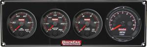QUICKCAR RACING PRODUCTS #69-3042 Redline 3-1 Gauge Panel OP/WT/FP w/Recall Tach